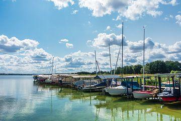 Boote am Unterucksee in Röpersdorf von Rico Ködder