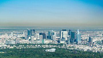 Skyline von Paris von Sven Frech