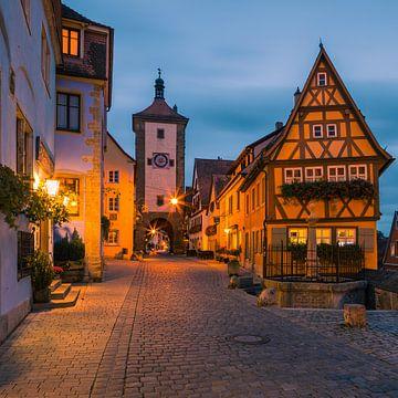 Rothenburg ob der Tauber, Deutschland von Henk Meijer Photography