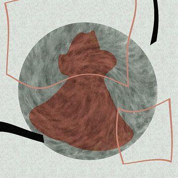 Abstrakte organische Formen von Maurice Dawson