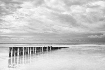 Wellenbrecher Ameland von Richard Gilissen