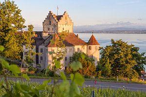 Meersburg aan de Bodensee van Jan Schuler