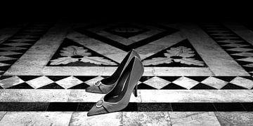 Damenschuhe (schwarz-weiß)