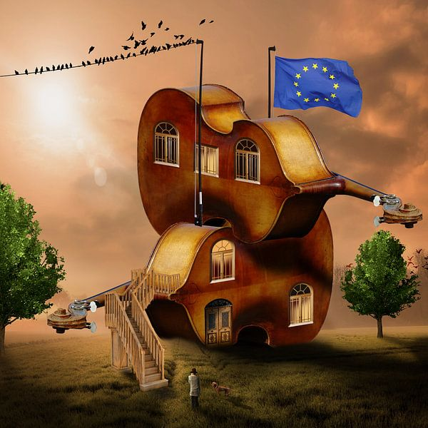 Haus der Cellistin von Harald Fischer