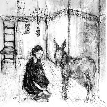 Dialoog met een ezel van Christin Lamade