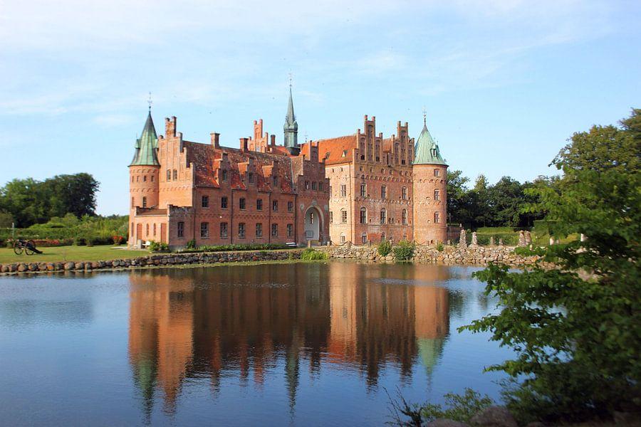 Egeskov Kasteel Denemarken van Hielke Roelevink
