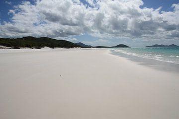 Whitehaven beach van Simone Meijer