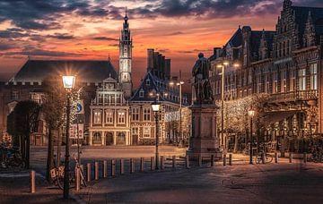 Haarlem! van Photo Wall Decoration