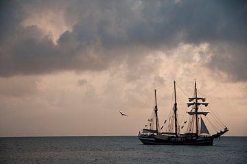 Thor heyerdahl in de Cariben van