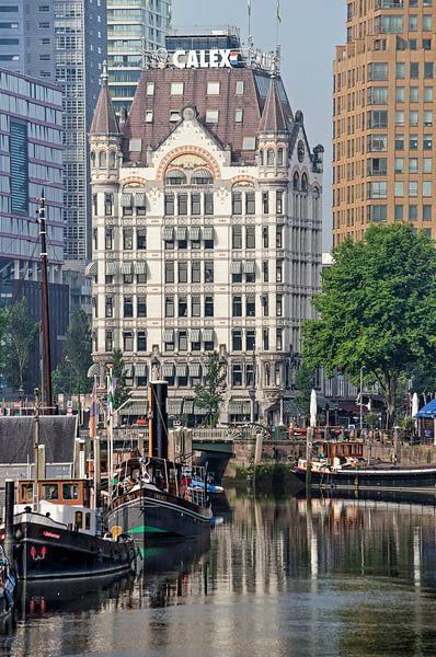 Rotterdam, het Haringvliet en het Witte huis van Frans Blok