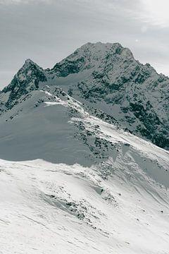 Winter in het Hooggebergte - Verticaal van Sophia Eerden