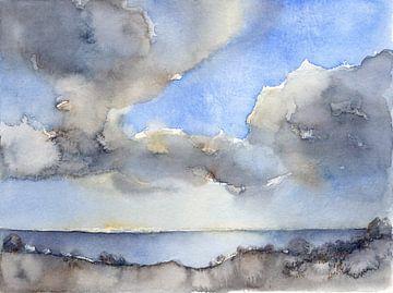 Wolken über dem Meer 2