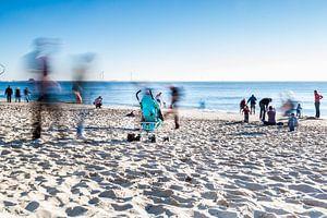 Verlaten op het Strand