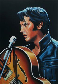 Elvis Presley | Malerei von Paul Meijering