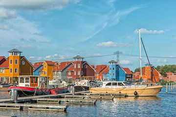 Reitdiephaven in Nederland van Richard van der Woude