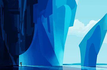 Bevroren van Ontsnap landschap