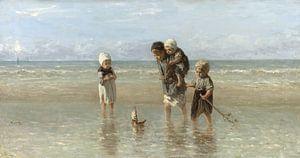 Kinder an der See (Jozef Israels) von Rebel Ontwerp