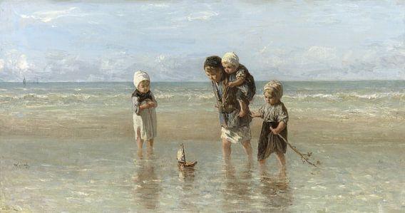 Kinder an der See (Jozef Israels)