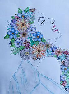 Bloemenmeisje von