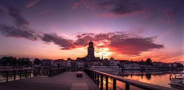zonsopgang Deventer sur Martijn van Steenbergen