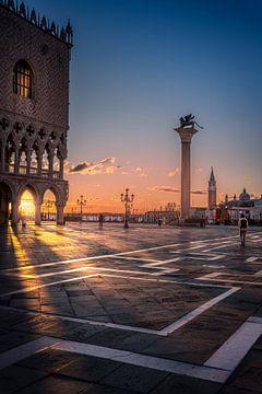 Markusplatz Venedig von Iman Azizi