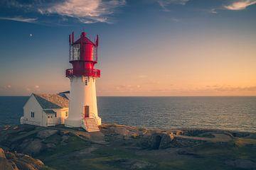 Leuchtturm Kristiansand von Frans Nijland
