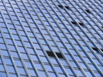 De Rotterdam (gros plan sur le bâtiment) sur JacQ