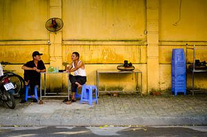 Conversation in the streets