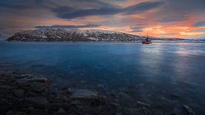 Vissersboot Noordkaap van