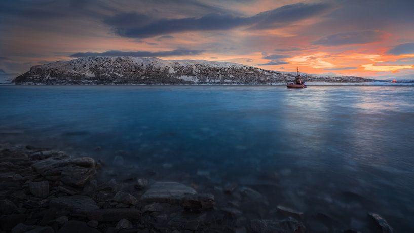 Vissersboot Noordkaap van Andy Troy