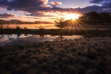 Sonnenaufgang in den Highlands von Markus Stauffer
