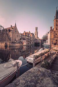 Der Rozenhoedkaai: Der berühmteste Platz von Brügge