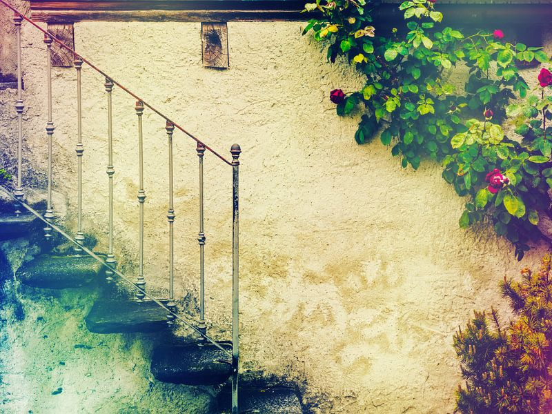 Old italian steps