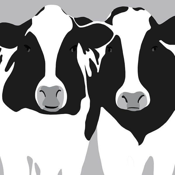 Kühe von Jole Art (Annejole Jacobs - de Jongh)