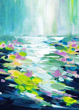 Lilienbinden von Maria Kitano