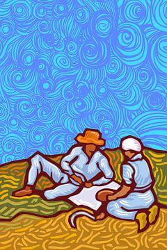 Tribute to Vincent van Gogh van Harry Hadders