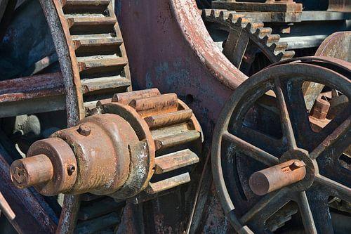 oude machinerie sur Hanneke Luit