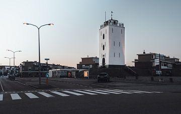 Leuchtturm von Katwijk aan Zee von Sanne Dost