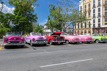 Viele Oldtimer in Havanna von Tilo Grellmann | Photography