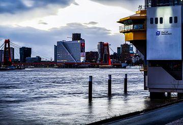 Rotterdam Willemsbrug van Mehmet Karaman
