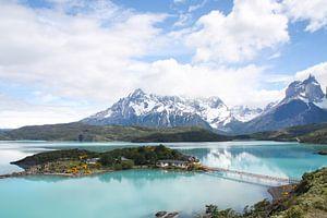 Pehoe Meer in Torres del Paine van