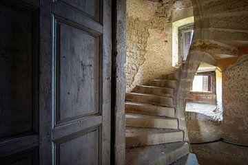 escalier en colimaçon abandonné sur Kristof Ven