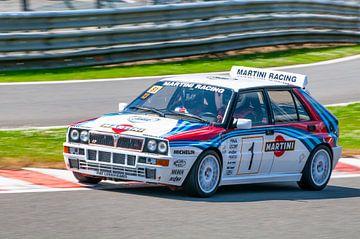 Lancia Delta HF Integrale race auto van Sjoerd van der Wal