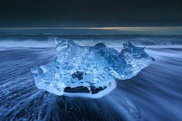 IJssculptuur, IJsland von Sven Broeckx