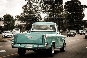 Old Chevy van Mrs van Aalst