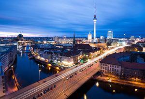 Berlijn skyline van
