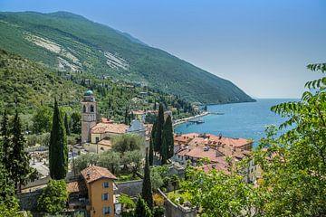 TORBOLE Overlooking Lake Garda van Melanie Viola