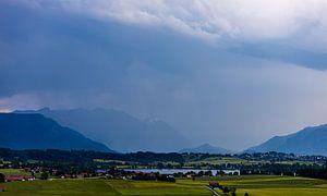 Regenfront van W.Schriebl PixelArts