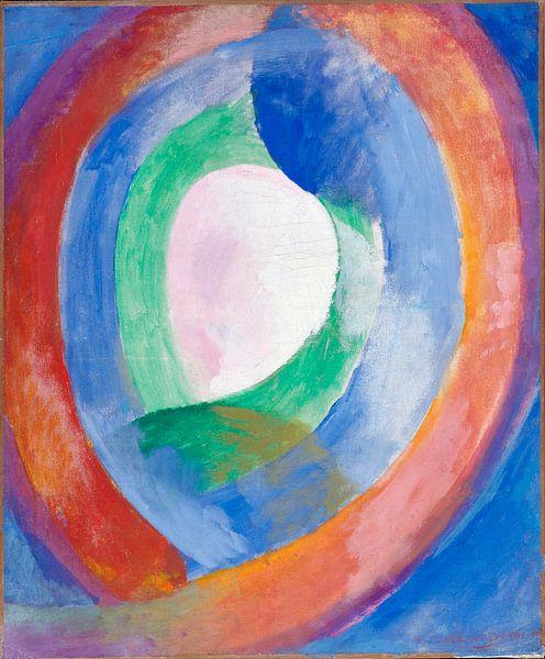 Formen circulaires; lune no. 1, Robert Delaunay von Meesterlijcke Meesters