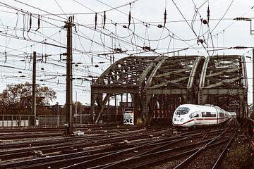 De Hohenzollernbrücke van Fronika Westenbroek